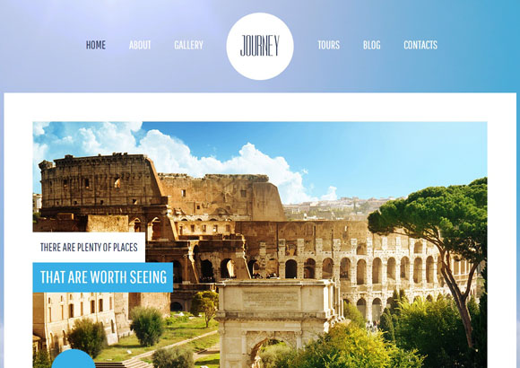 journey free html5 templates