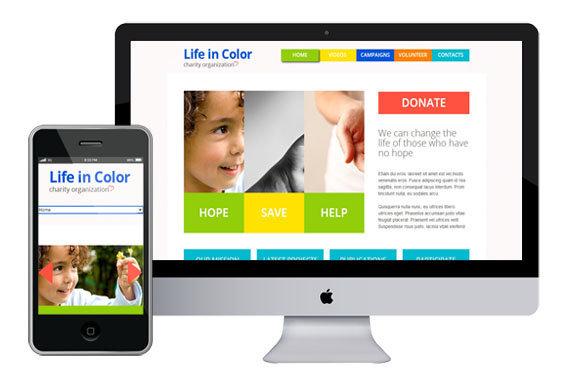 lifecolor free responsive html5 templates z