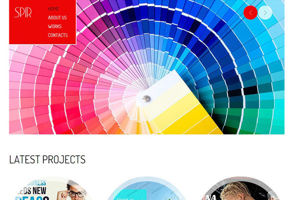 spir free html5 templates themes