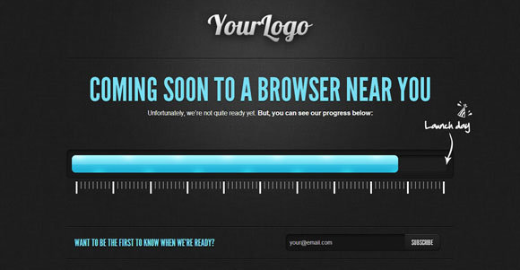 Coming Soon to a Browser Near You templates