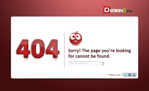 fresh-404-error-template-demo