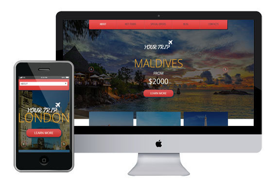 yourtrip free responsive html5 templates templates