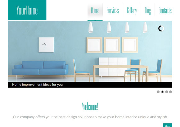 Yourhome Free Html5 Themes