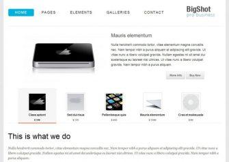Bigshot – Free Html5 Template