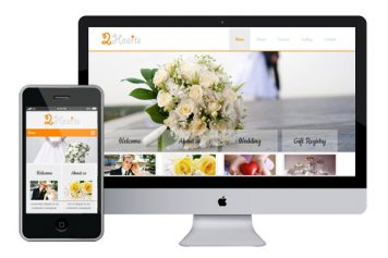 2Hearts – Responsive Html5 Template