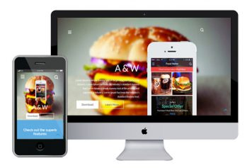 A&W – Bootstrap Html5 Template