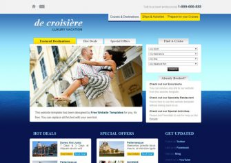 CruiseVacation – Free Css Template