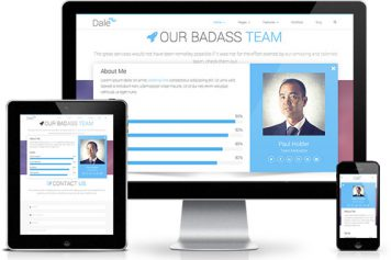 Dale – Responsive Html5 Template