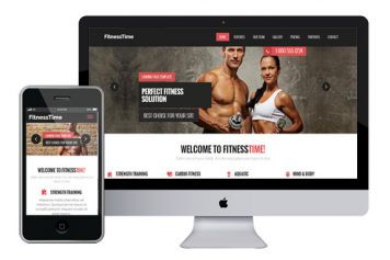 FitnessTime – Responsive Html5 Template