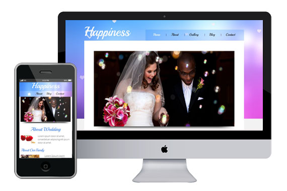 Free Happiness Website Template Home w3layouts