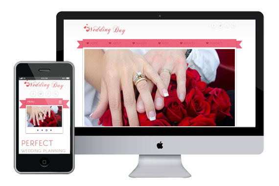 Free Wedding Day Website Template Home w3layouts