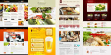 Free Restaurant and Cafe Html5 Templates