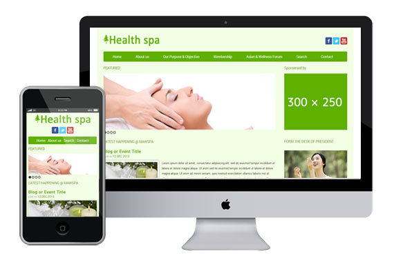Healthspa Website Template Home W3layouts