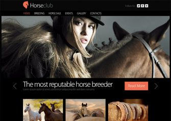 HorseClub – Free Html5 Template