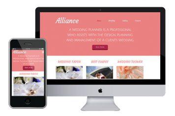Alliance – Responsive Html5 Template