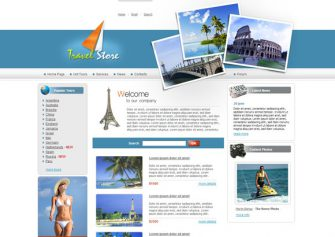 TravelStore – Free Css Template