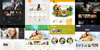 Free Animals and Pets Html5 Templates