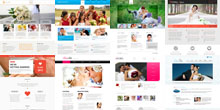 Free Wedding Html5 Css3 Templates
