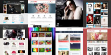 Free Photography and Gallery Html5 Templates