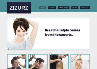 HairstyleSalon – Free Css Template