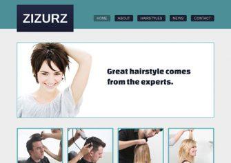 HairstyleSalon – Free Css Template