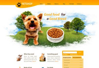 PetShop – Free Css Template