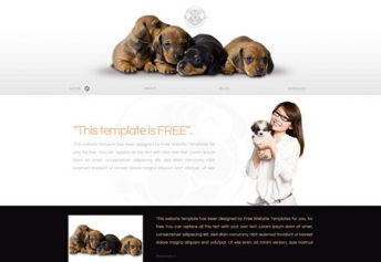 Puppy – Free Css Template