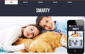 Smarty – Responsive Html5 Template