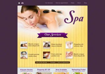 Spa – Free Css Template