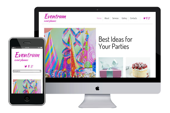 eventrum free responsive html5 templates