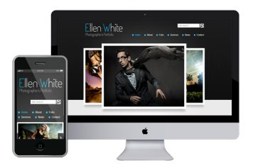 zPhotographer – Responsive Html5 Template
