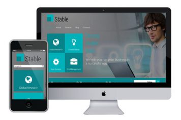 Stable – Responsive Html5 Template