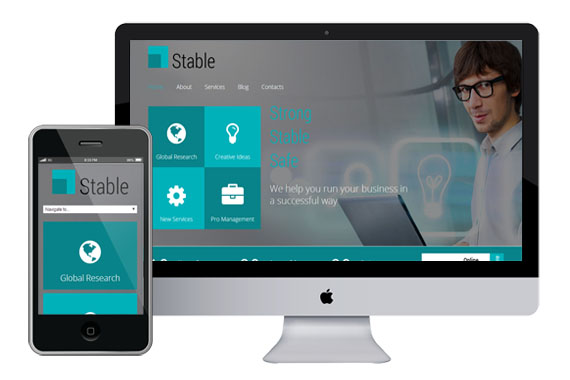 stable free responsive html5 css3 templates