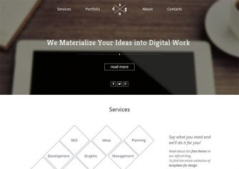 DigitalWorld – Free Html5 Template
