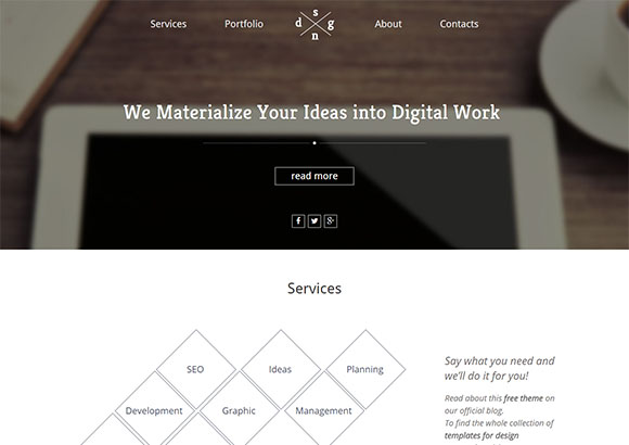 digitalworld responsive html5 themes free html5 templates