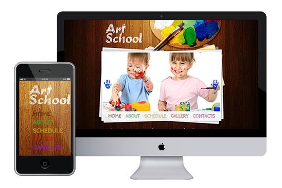 zArtSchool-free-responsive-html5-css3-templates