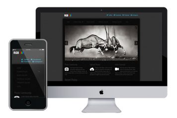 RGB – Responsive Html5 Template