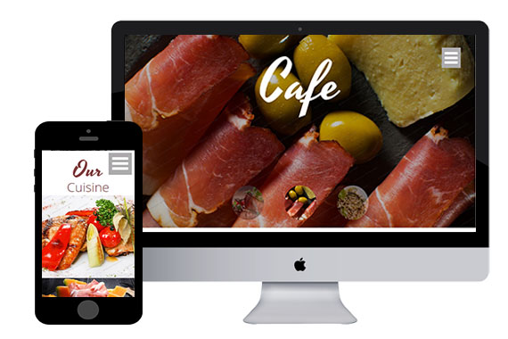 CookCafe Free Responsive Html5 Templates