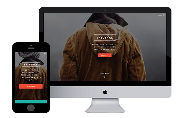 Spectral free responsive html5 templates