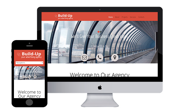 buildup free responsive html5 templates