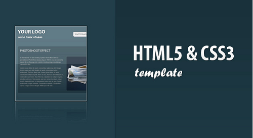 Html5 Tutorials – Creating a Html5 Css3 Template