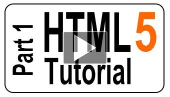 6 Videos - HTML5 Tutorial For Beginners