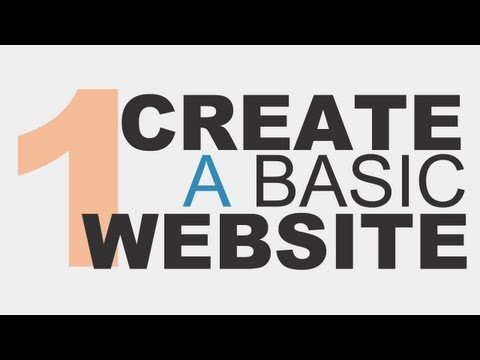 9 Videos - How to Code a Basic Website Using HTML5