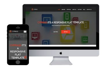Cyprass – Bootstrap Html5 Template