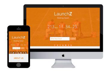LaunchZ – Bootstrap Html5 Template