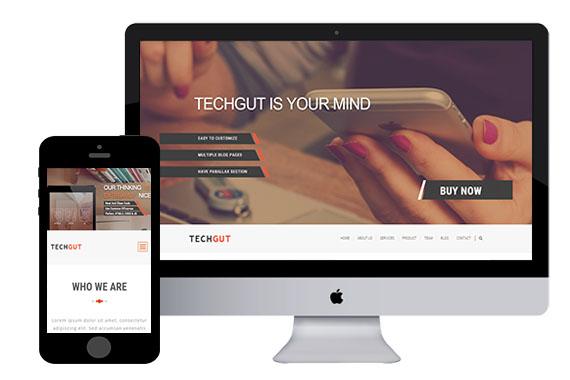 techgut free bootstrap responsive html5 template