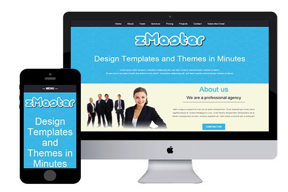 zMaster free responsive html5 template