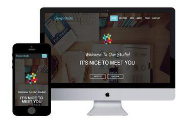 DesignStudio – Bootstrap Html5 Template