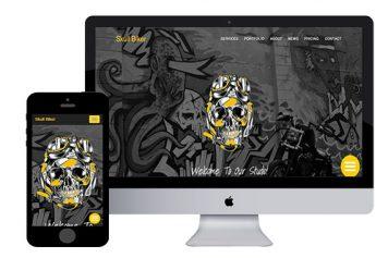 SkullBiker – Bootstrap Html5 Template