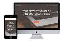 creative free bootstrap html5 template